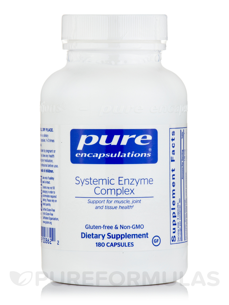 Systemic Enzyme Complex - 180 Capsules