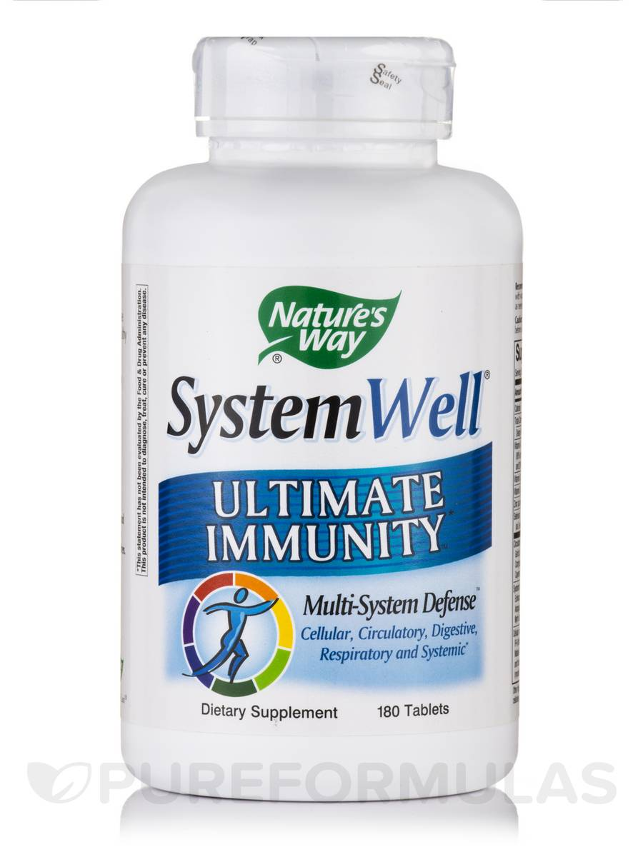 SystemWell Ultimate Immunity - 180 Tablets