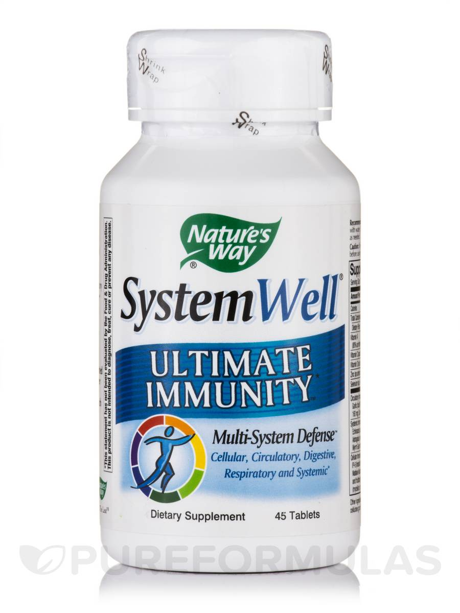 SystemWell Ultimate Immunity - 45 Tablets