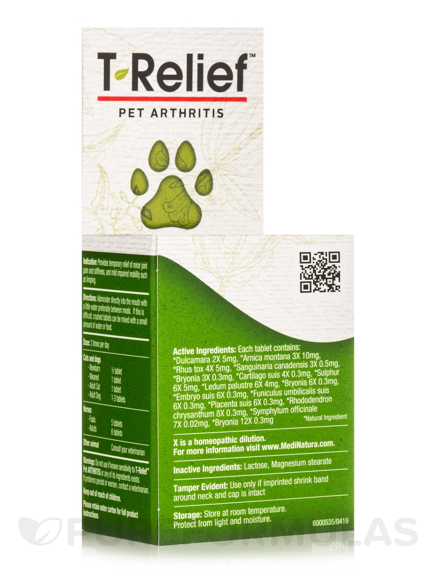 T-Relief™ Pet Arthritis Tablets - 90 Tablets
