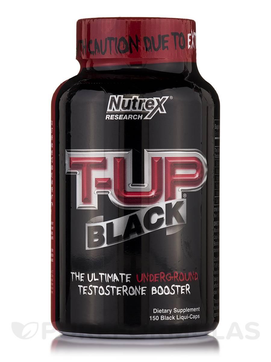 T-UP Black - 150 Black Liqui-Caps