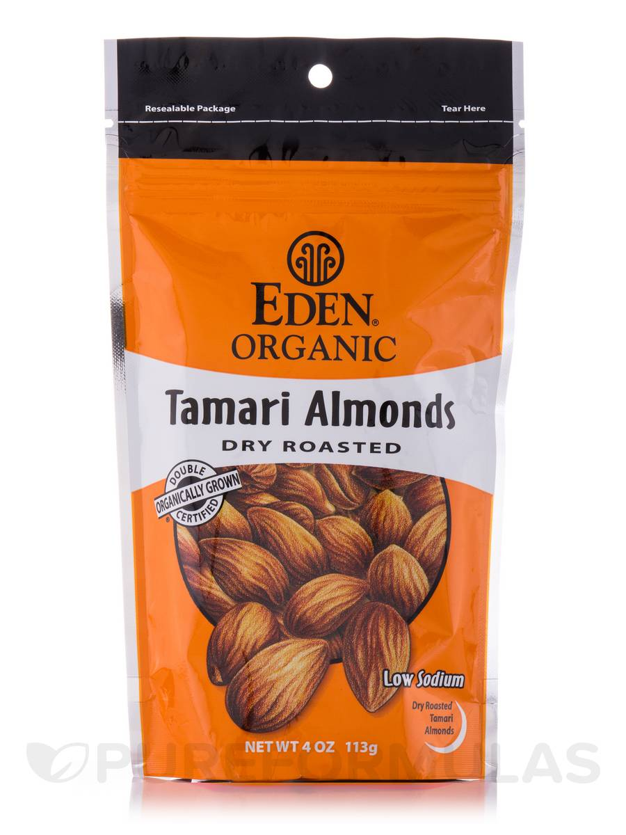 Tamari Almonds Dry Roasted - 4 oz (113 Grams)