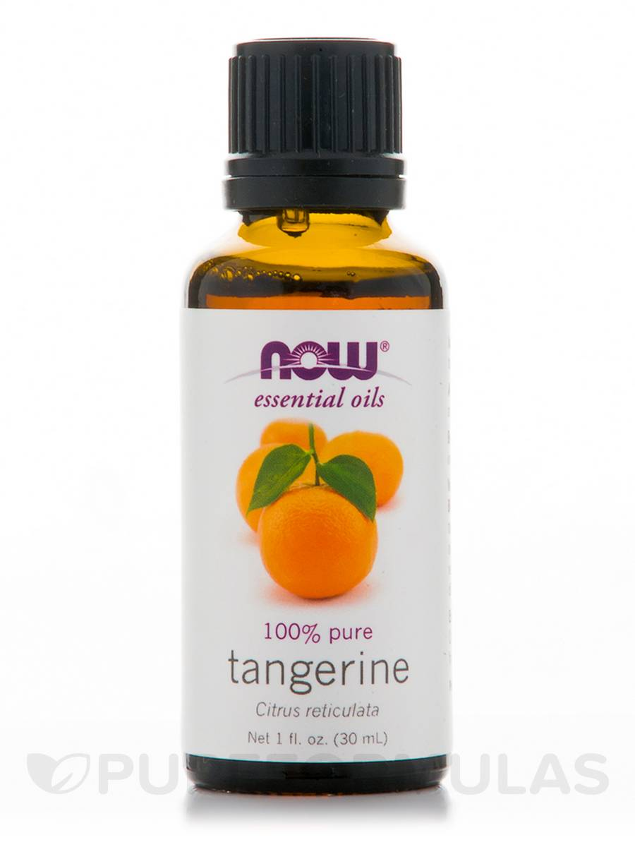 NOW® Essential Oils - Tangerine Oil (100% Pure) - 1 fl. oz (30 ml)