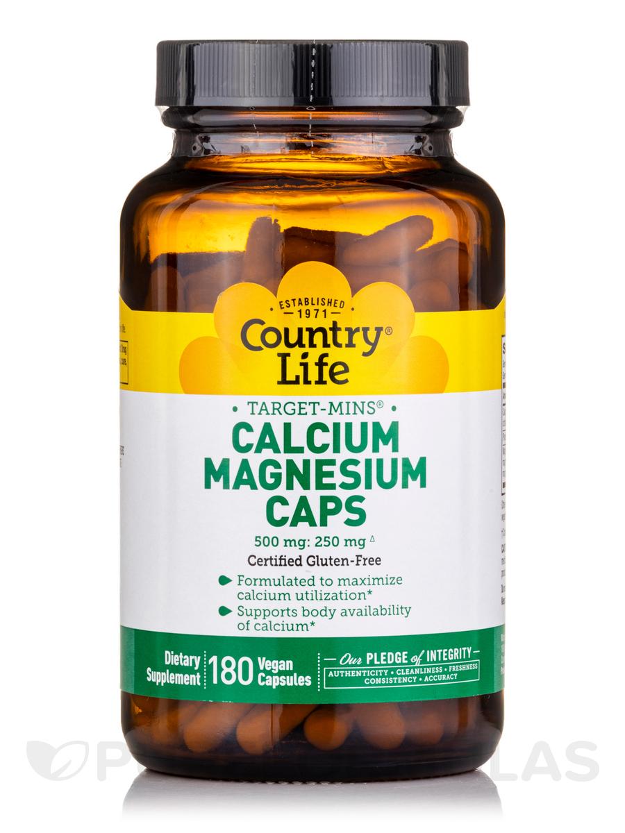 Target-Mins Cal/Mag - 180 Vegetarian Capsules