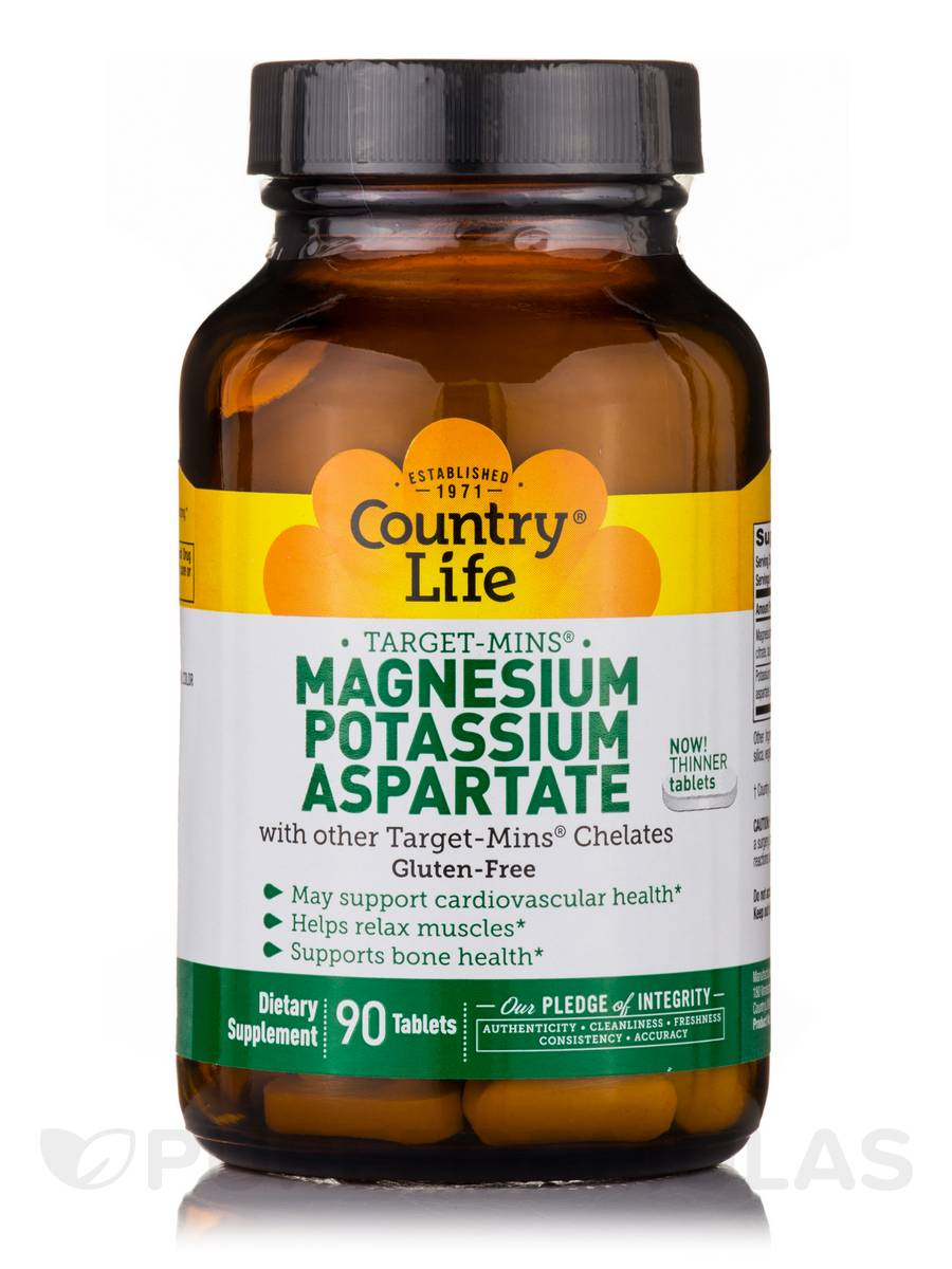 Target-Mins Magnesium-Potassium Aspartate - 90 Tablets