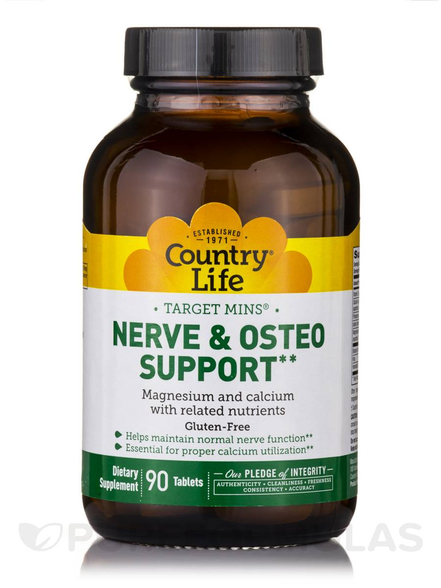 Target-Mins Nerve & Osteo Support - 90 Tablets