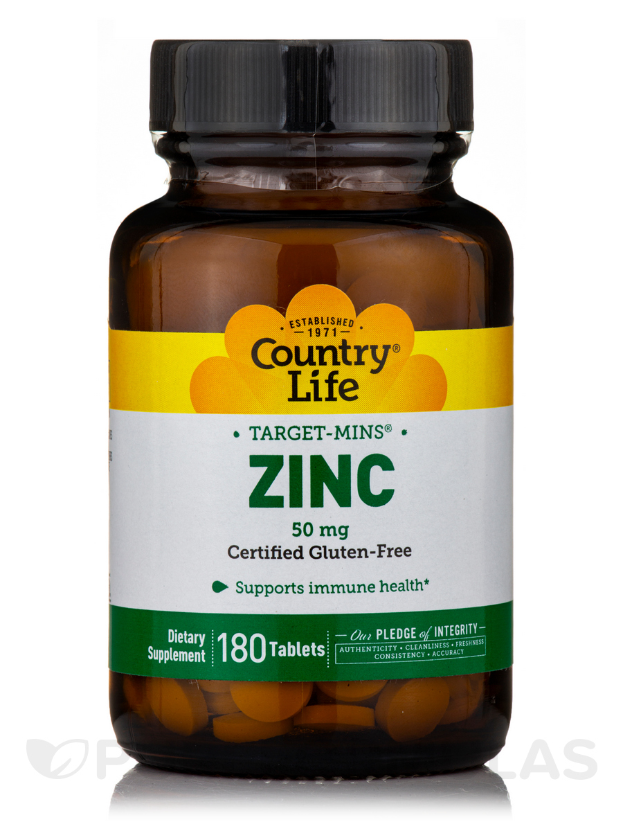 Target-Mins Zinc 50 mg - 180 Tablets