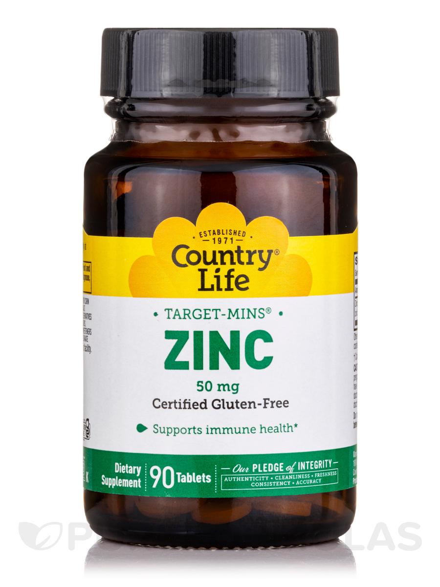 Target-Mins Zinc 50 mg - 90 Tablets