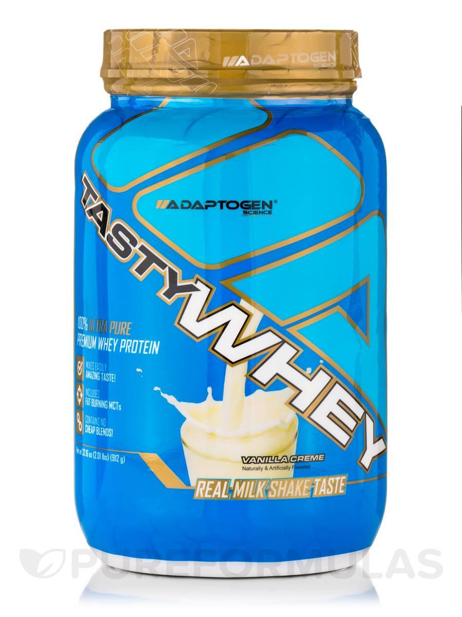 Tasty Whey™, Vanilla Creme Flavor - 2.01 Lbs (912 Grams)