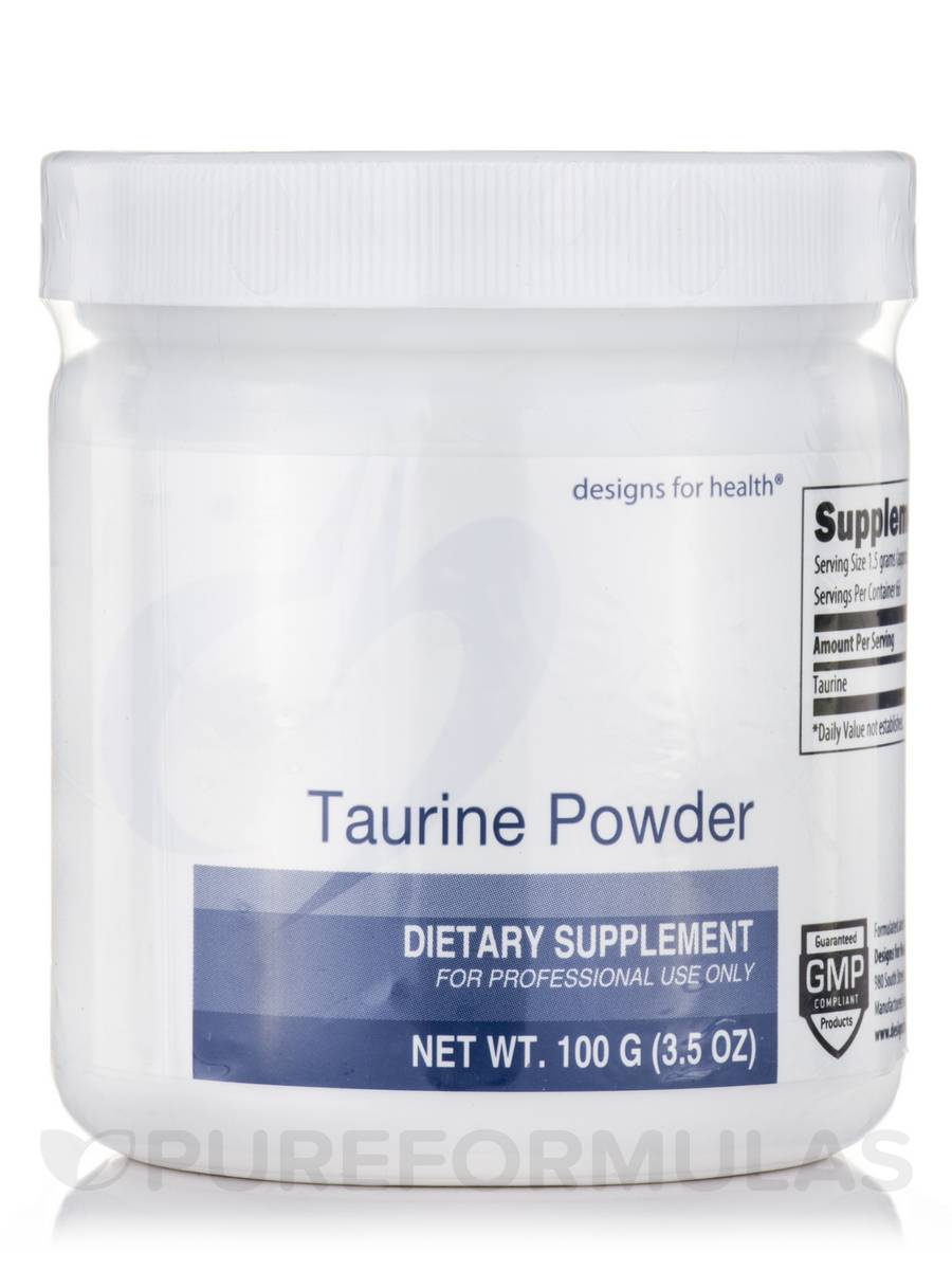 Taurine Powder - 3.2 oz (100 Grams)