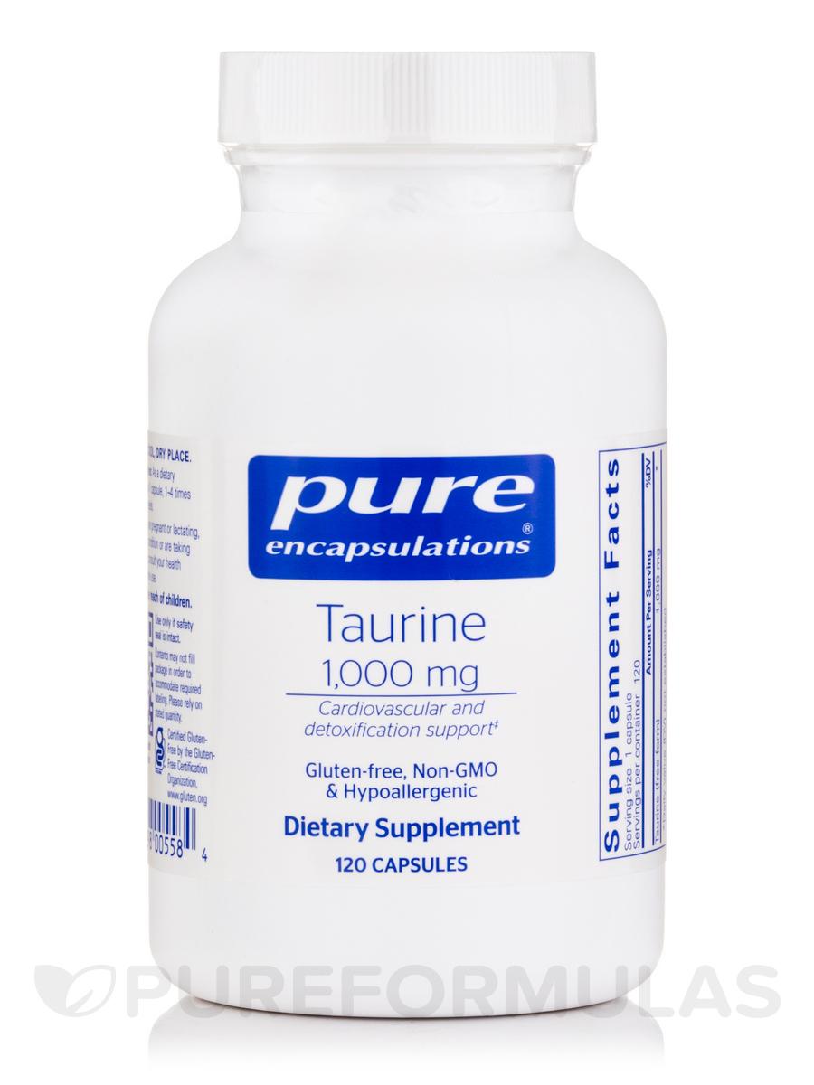 Taurine 1000 mg - 120 Capsules