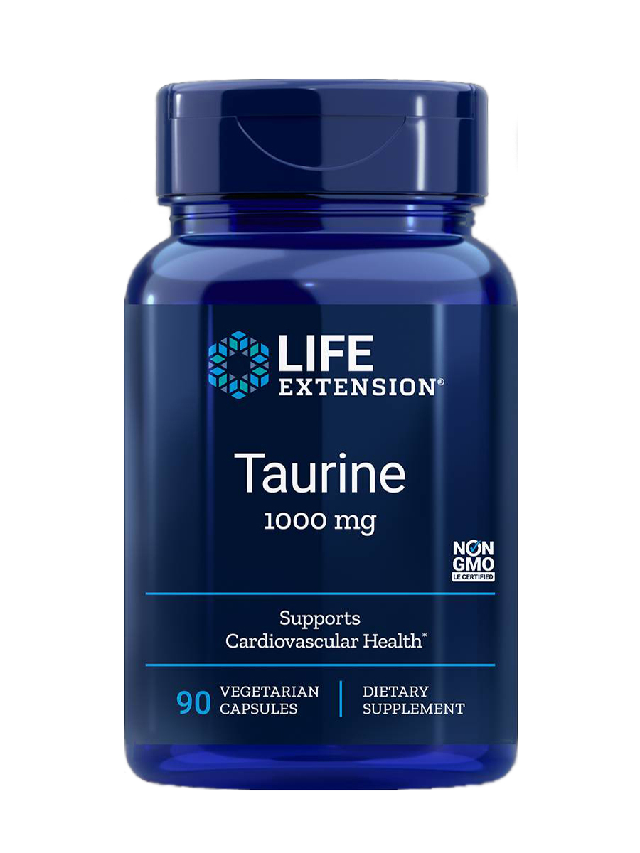 Taurine 1000 mg - 90 Vegetarian Capsules