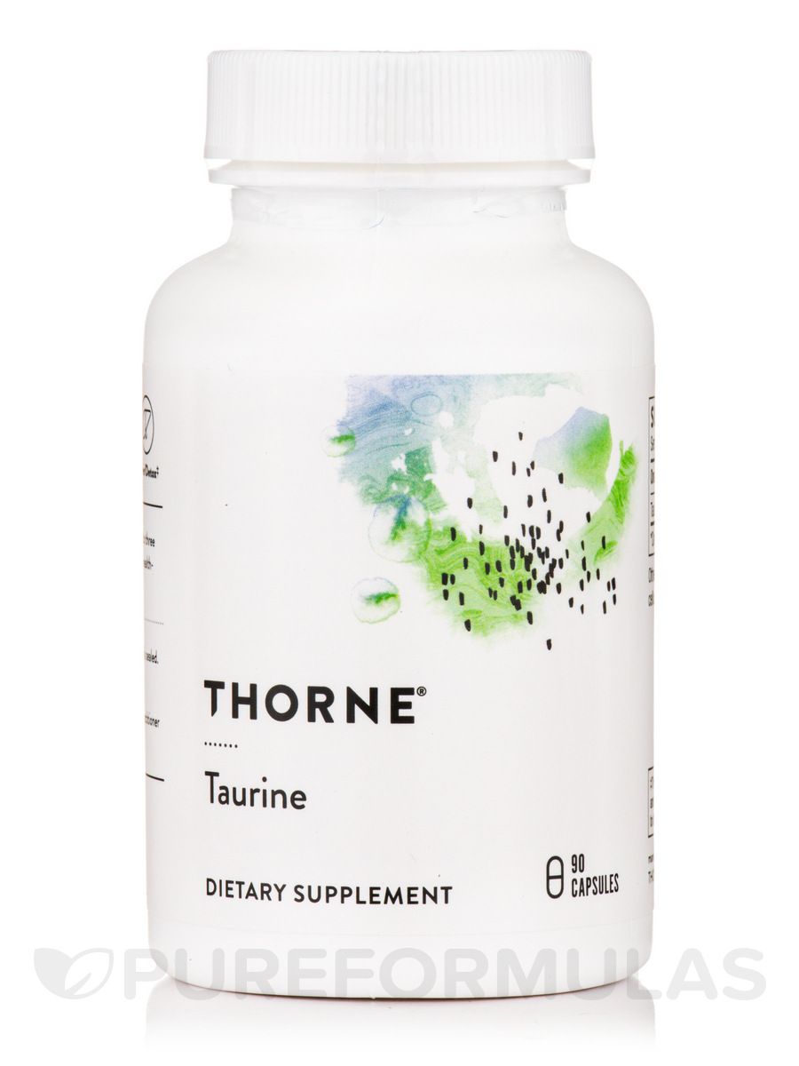 Taurine - 90 Vegetarian Capsules