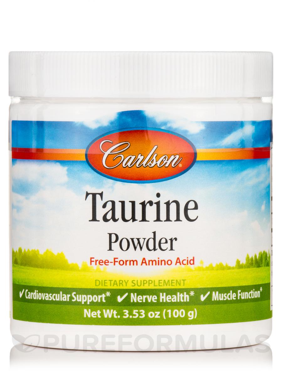 Taurine Powder - 3.53 oz (100 Grams)
