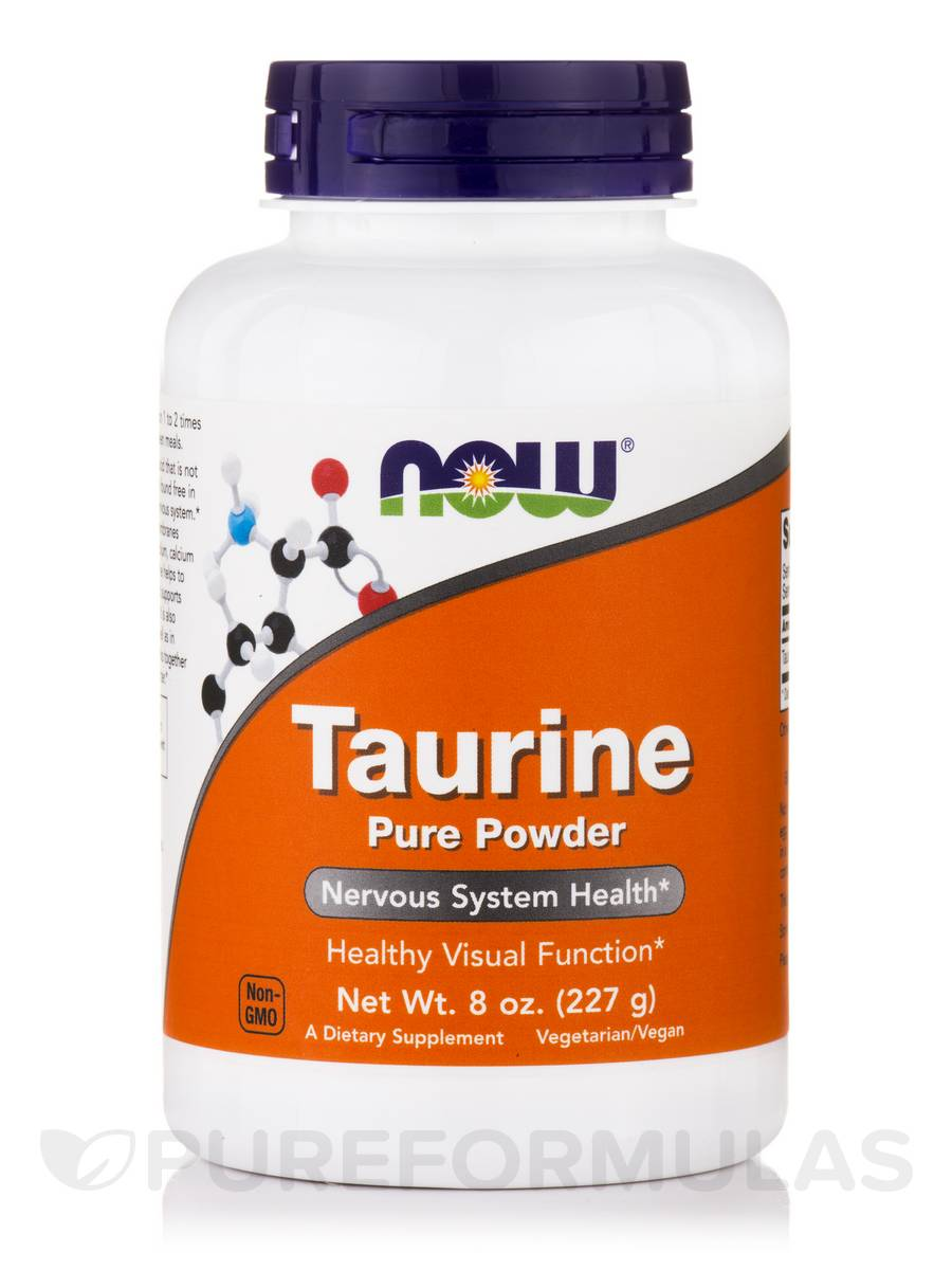 Taurine Pure Powder - 8 oz (227 Grams)