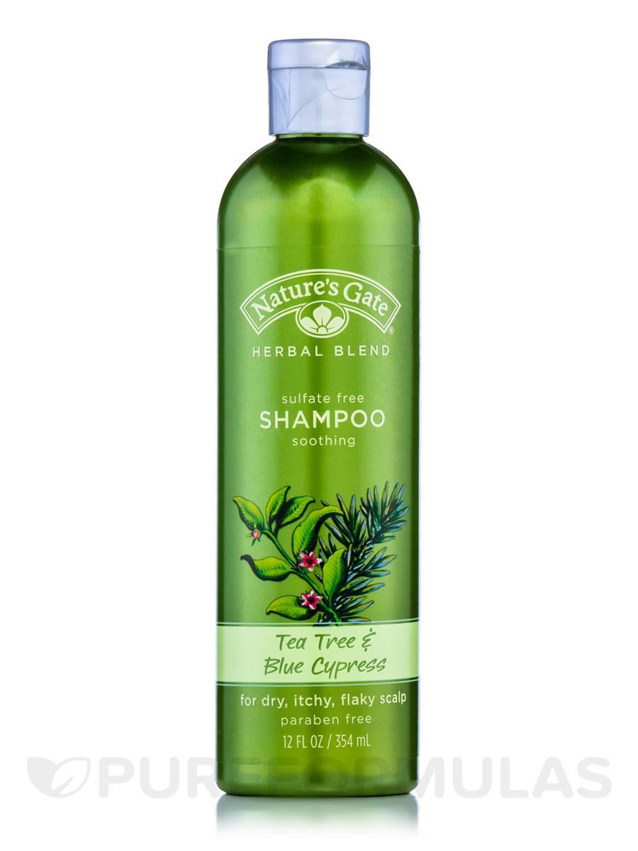 Tea Tree & Blue Cypress Soothing Shampoo - 12 fl. oz (354 ml)