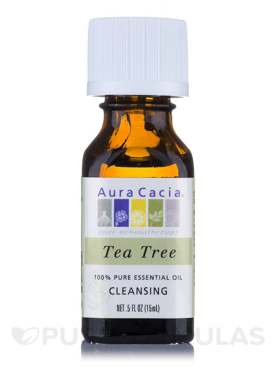 Tea Tree Essential Oil (melaleuca alternafolia) - 0.5 fl. oz (15 ml)