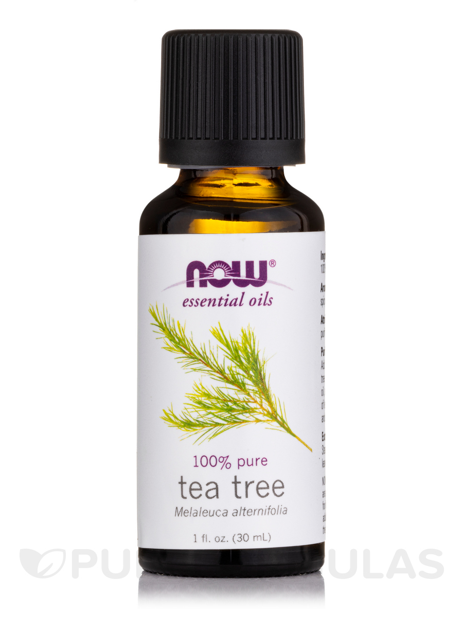 NOW® Essential Oils - Tea Tree Oil - 1 fl  oz (30 ml)