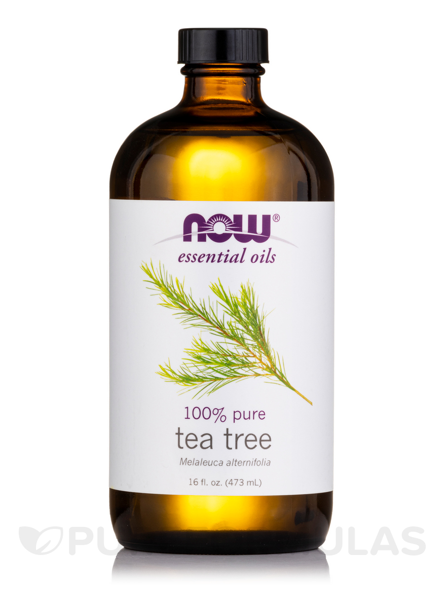 NOW® Essential Oils - Tea Tree Oil (473 ml) - 16 fl. oz (473 ml)