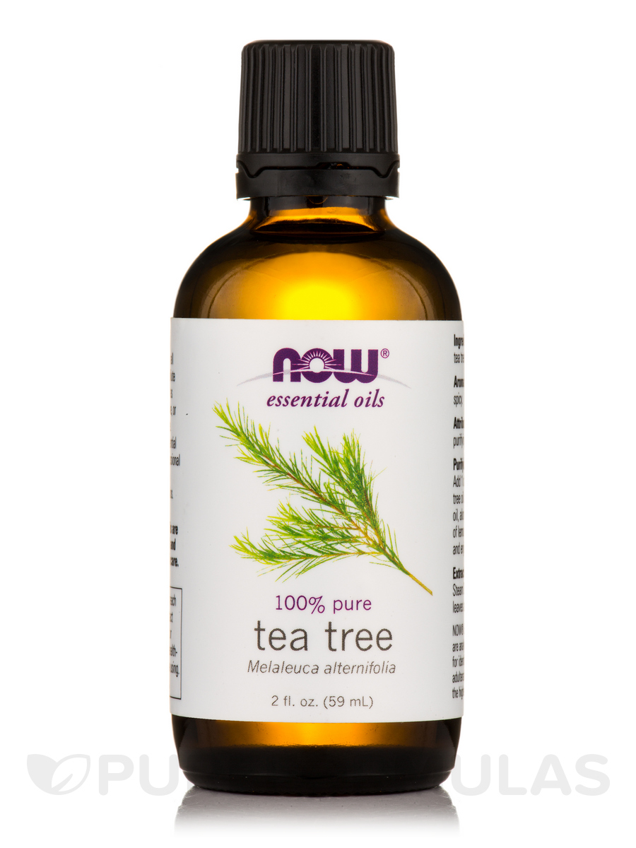 NOW® Essential Oils - Tea Tree Oil - 2 fl. oz (59 ml)