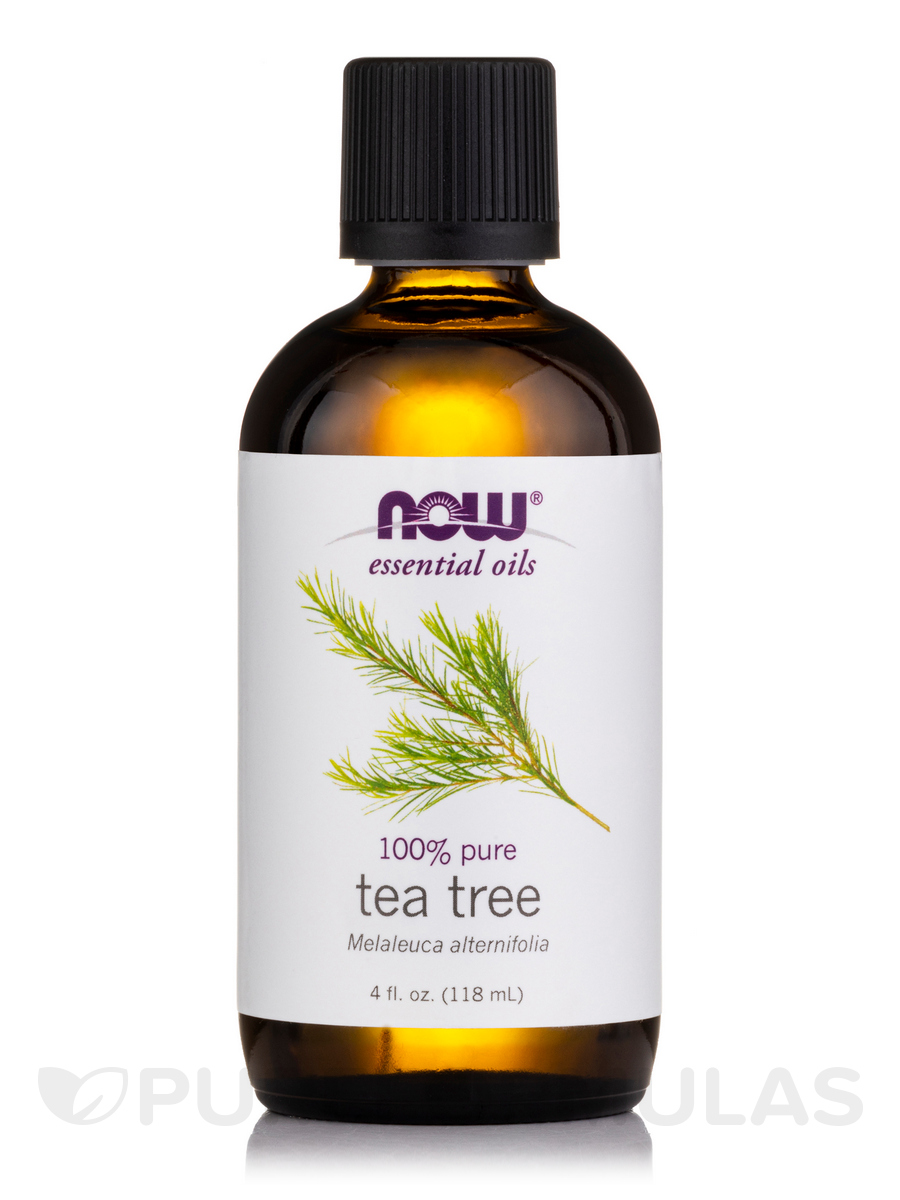 NOW® Essential Oils - Tea Tree Oil - 4 fl. oz (118 ml)