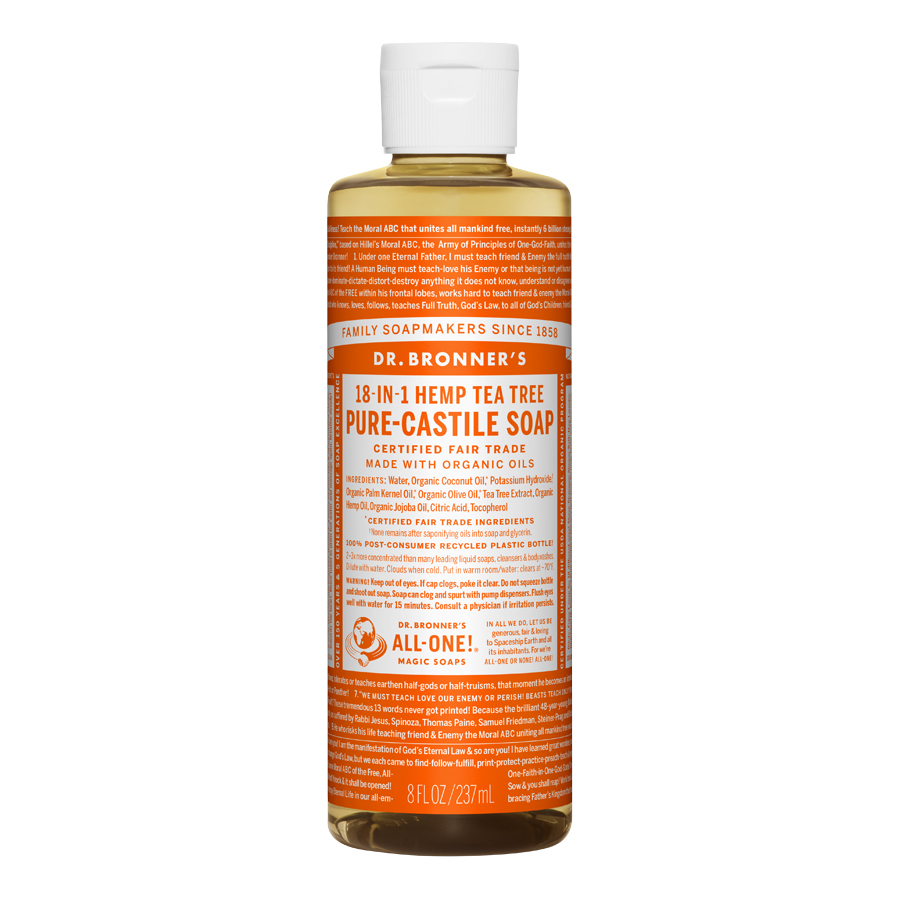 Tea Tree Oil Pure Castile Liquid Soap - 8 fl. oz (237 ml)