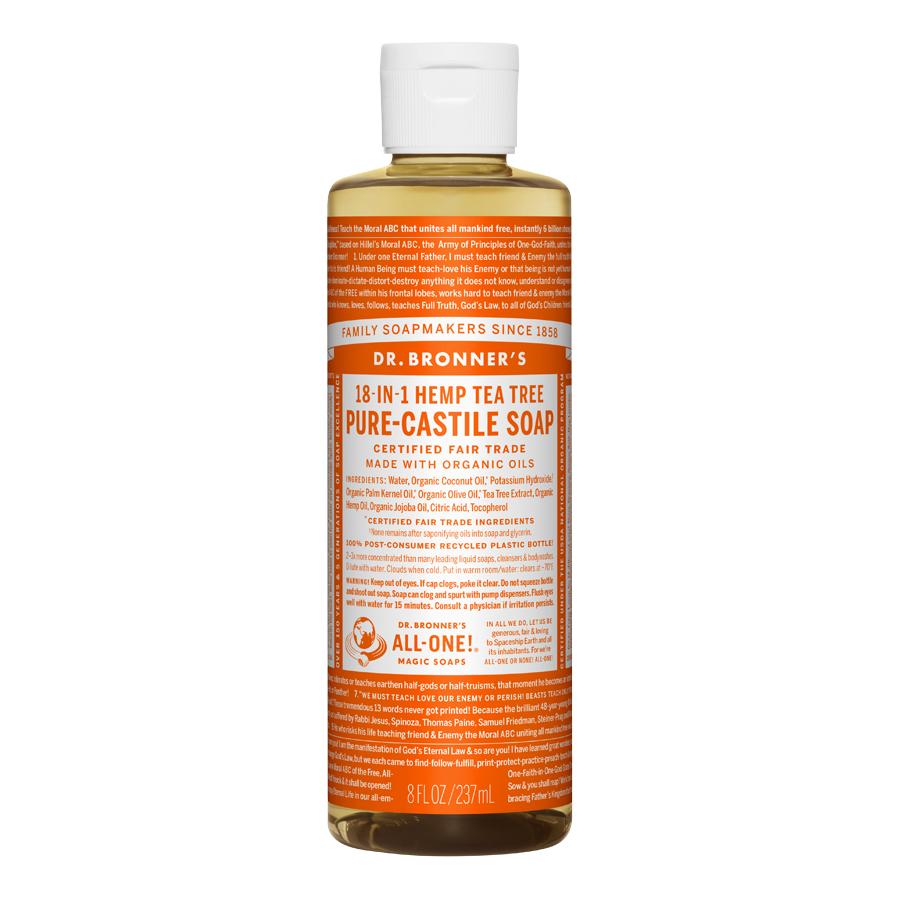 Tea Tree Oil Pure Castile Liquid Soap - 8 fl. oz (237 ml)