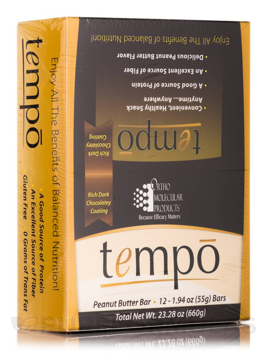 Tempo Bar-Peanut Butter - Box of 12 Bars
