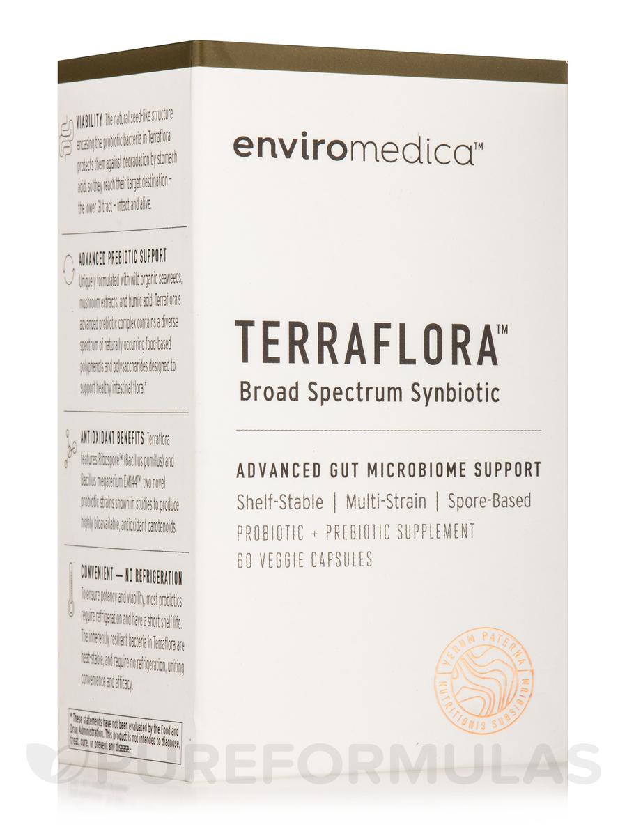 Terraflora Synbiotic - 60 Veggie Capsules