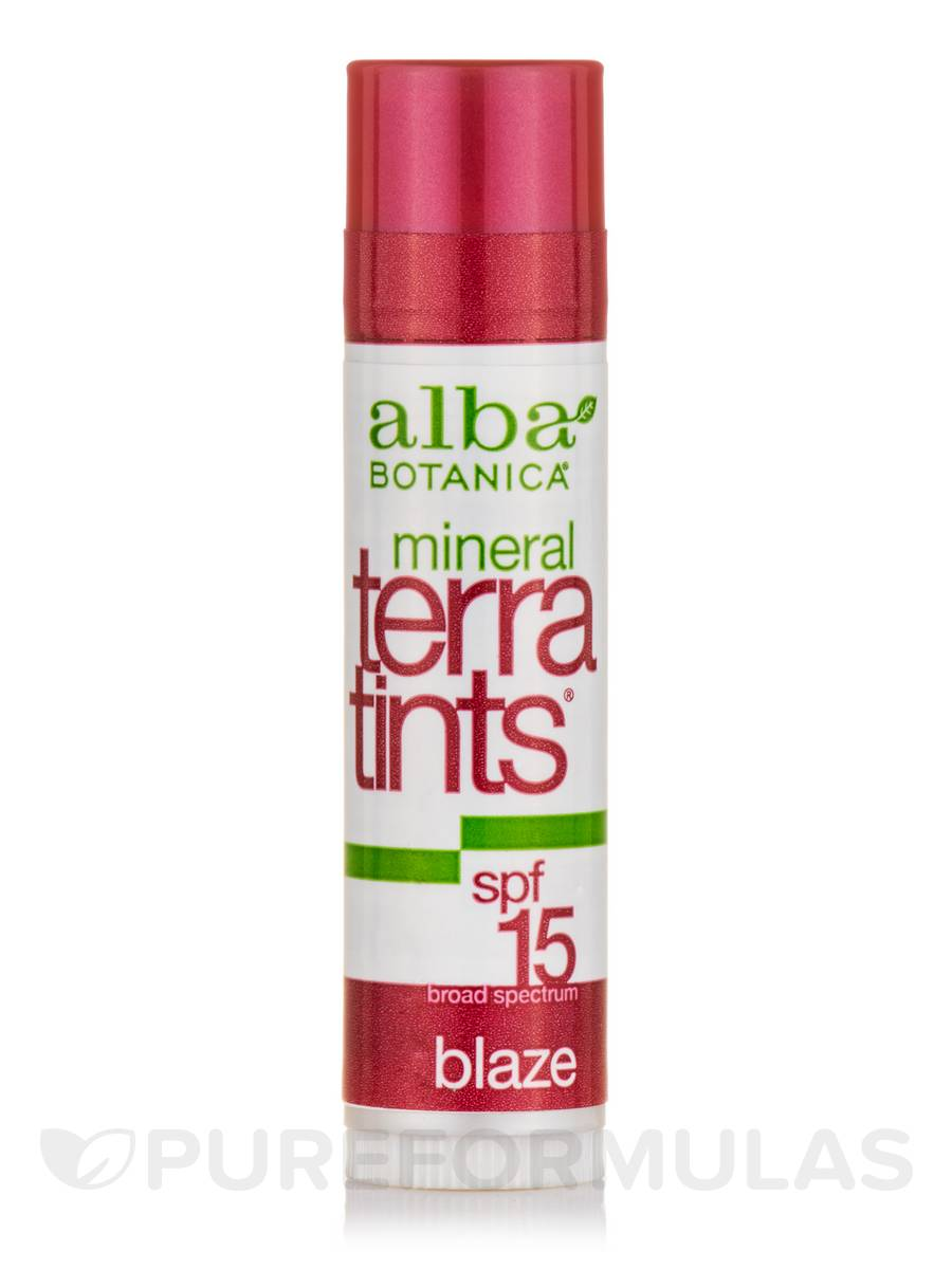 Mineral TerraTints® SPF15 Lip Balm Blaze - 0.15 oz (4.2 Grams)