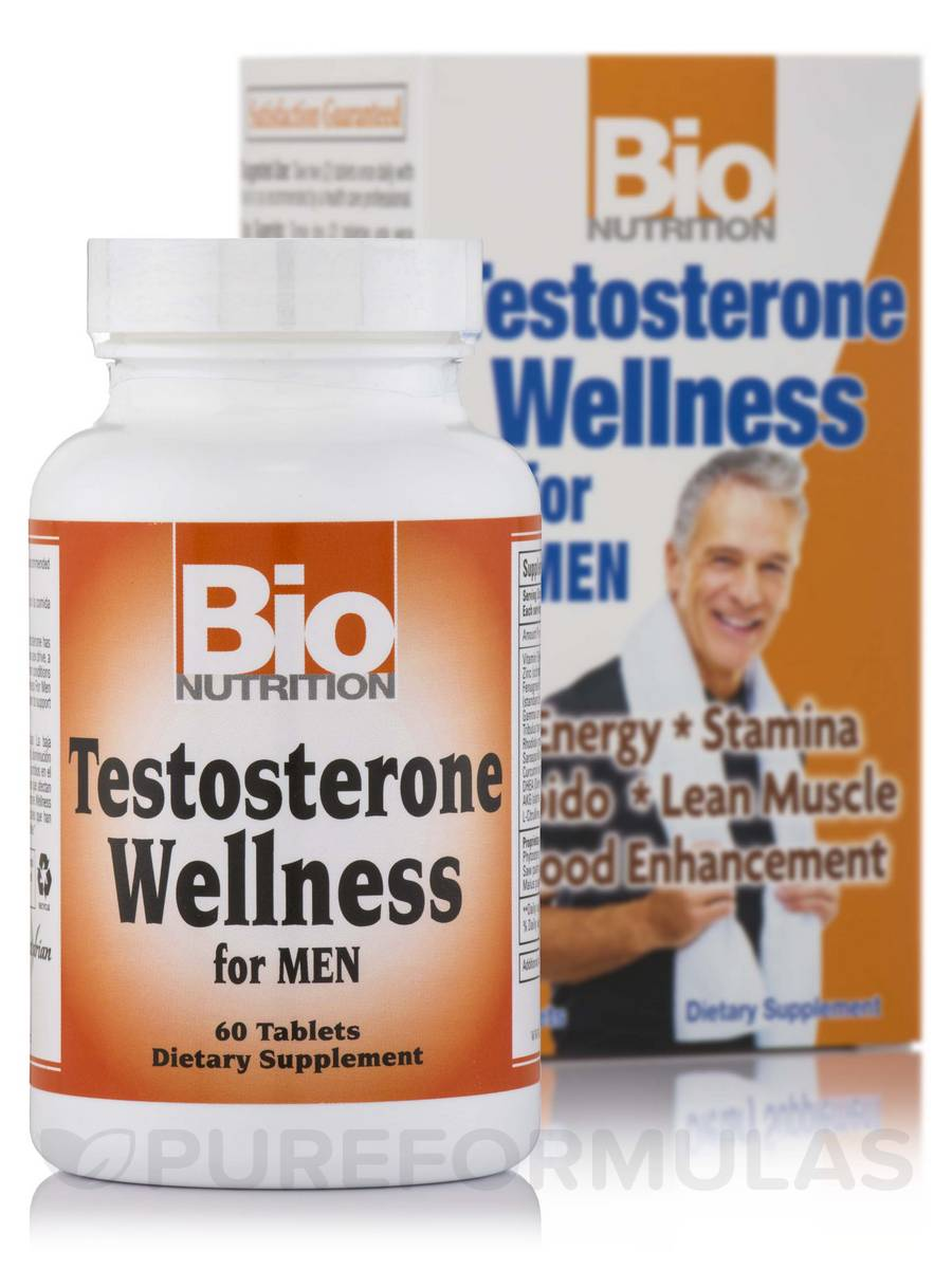 Testosterone Wellness for Men - 60 Tablets