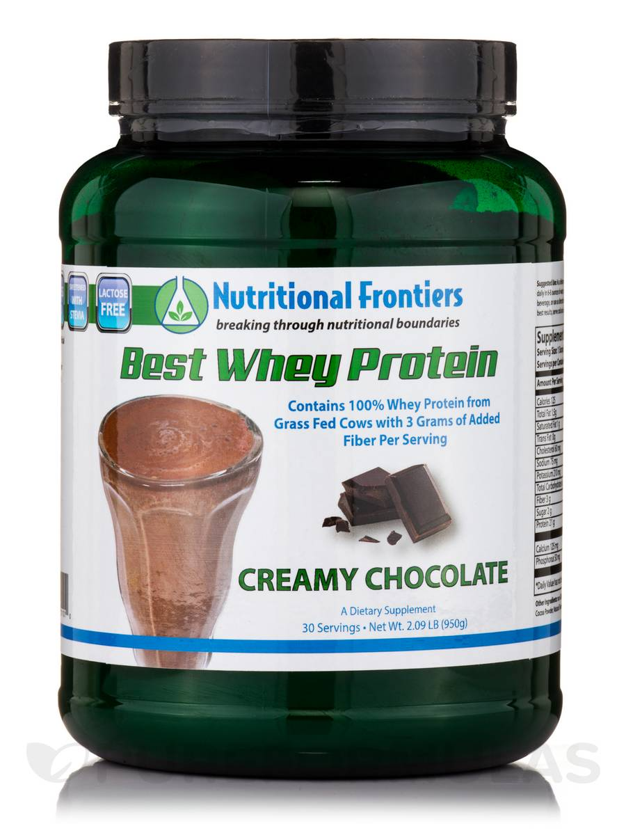 Best Whey Protein (Creamy Chocolate) - 30 Servings (2.09 lbs / 950 Grams)
