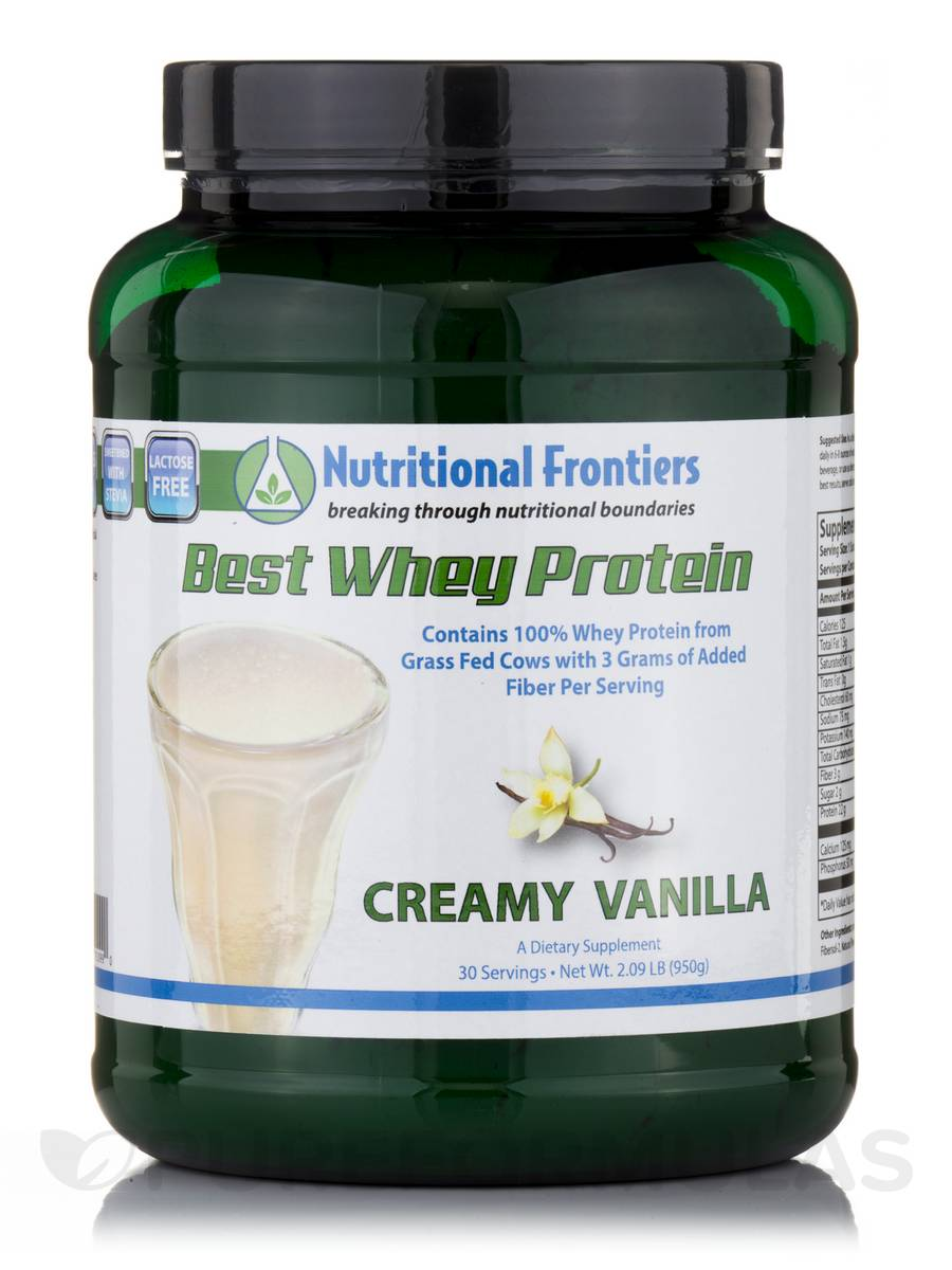 Best Whey Protein, Creamy Vanilla - 30 Servings (32.09 oz / 950 Grams)