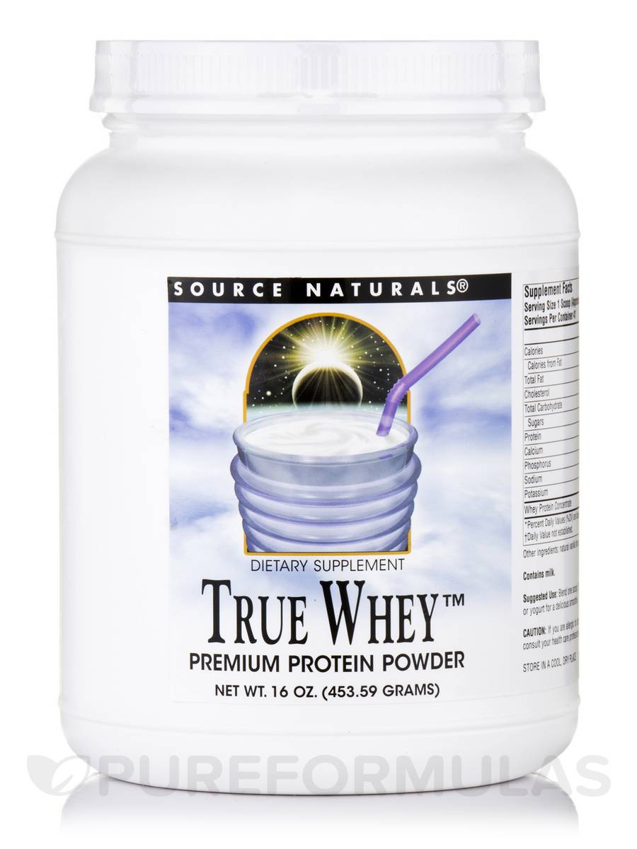 Source Naturals True Whey Review