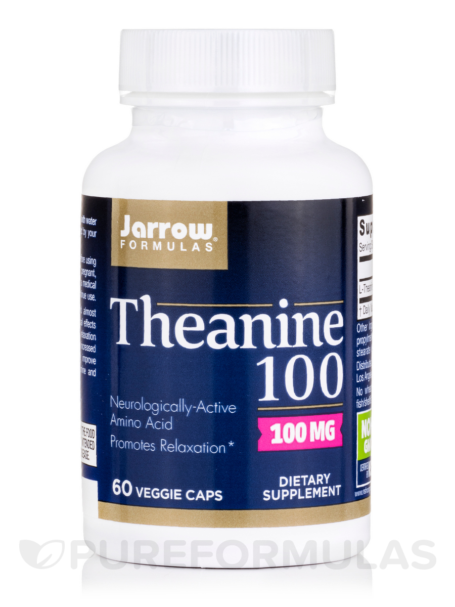Theanine 100 mg - 60 Capsules