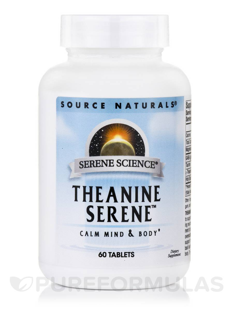 Theanine Serene™ - 60 Tablets