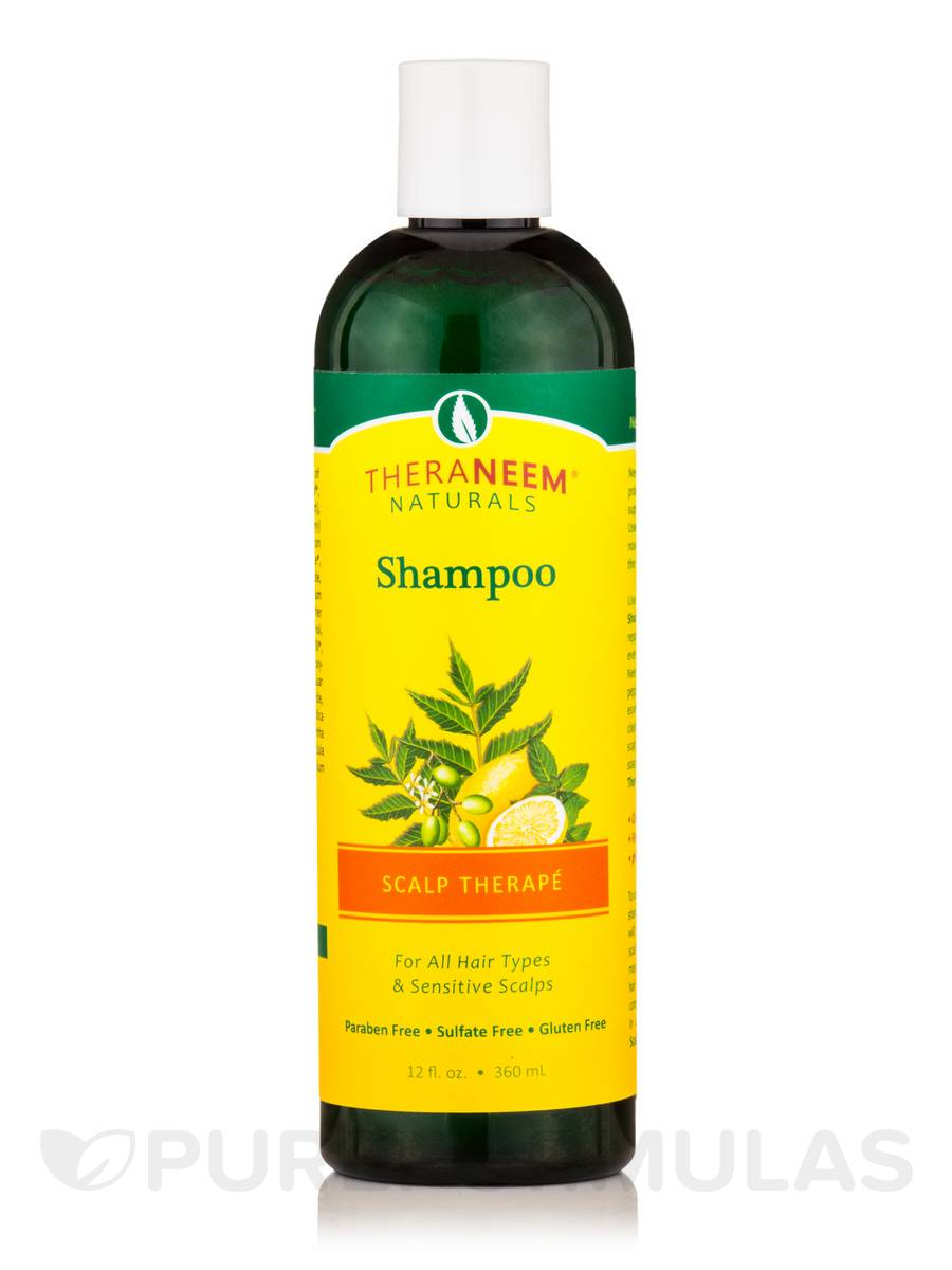 TheraNeem® Naturals Scalp Therapé Shampoo, Neem, Lemon & Peppermint - 12 fl. oz (360 ml)