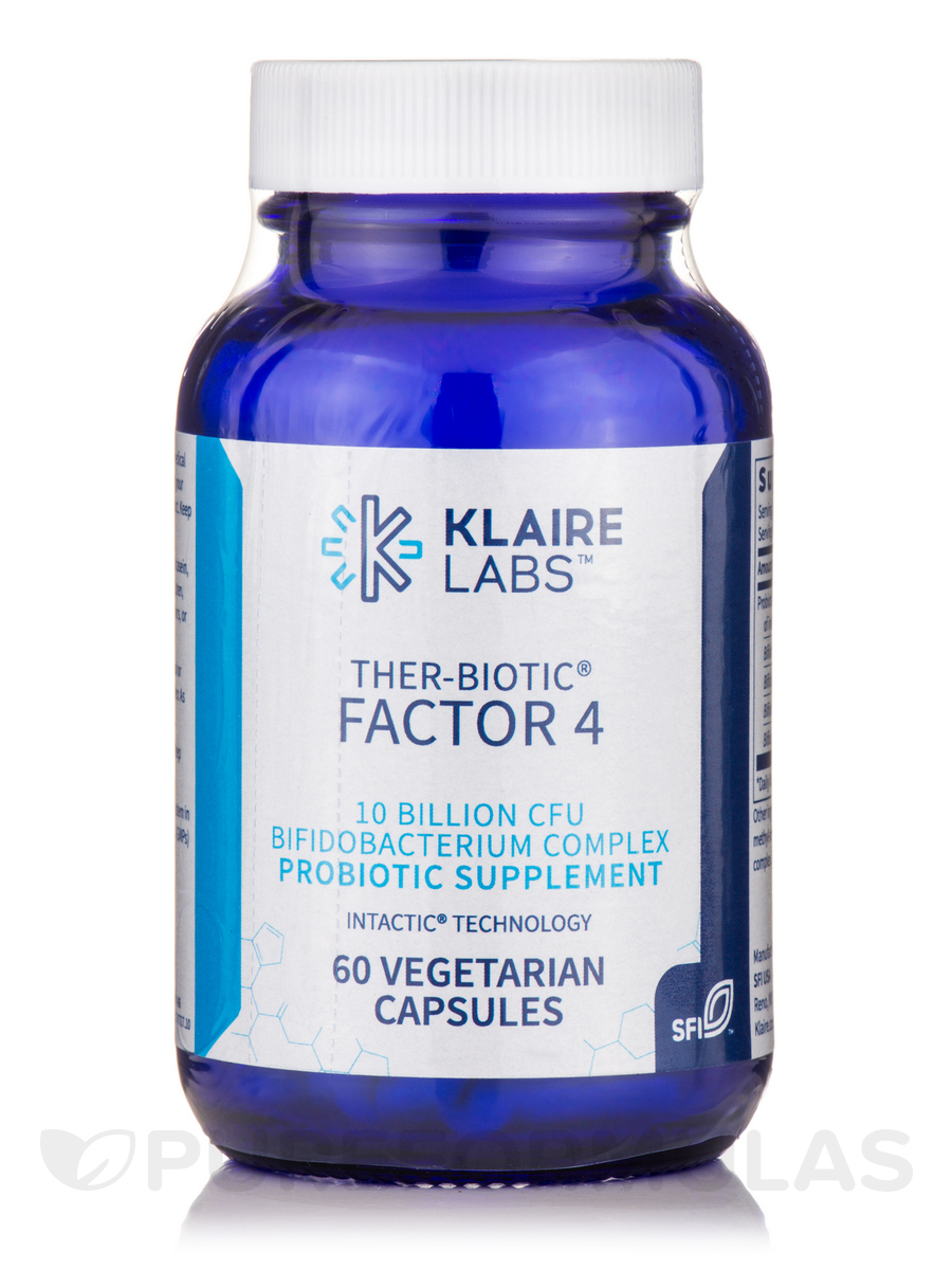 Ther-Biotic® Factor 4 - 60 Vegetarian Capsules