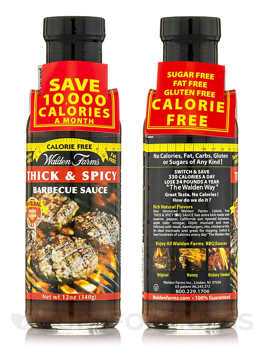 Thick 'n Spicy Barbecue Sauce Jar - 12 oz (340 Grams)