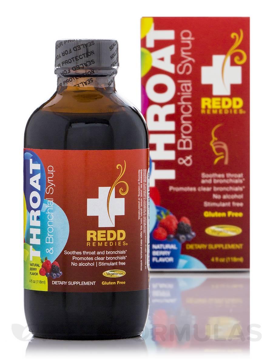 Throat & Bronchial Syrup-Berry Flavor - 4 fl. oz (118 ml)