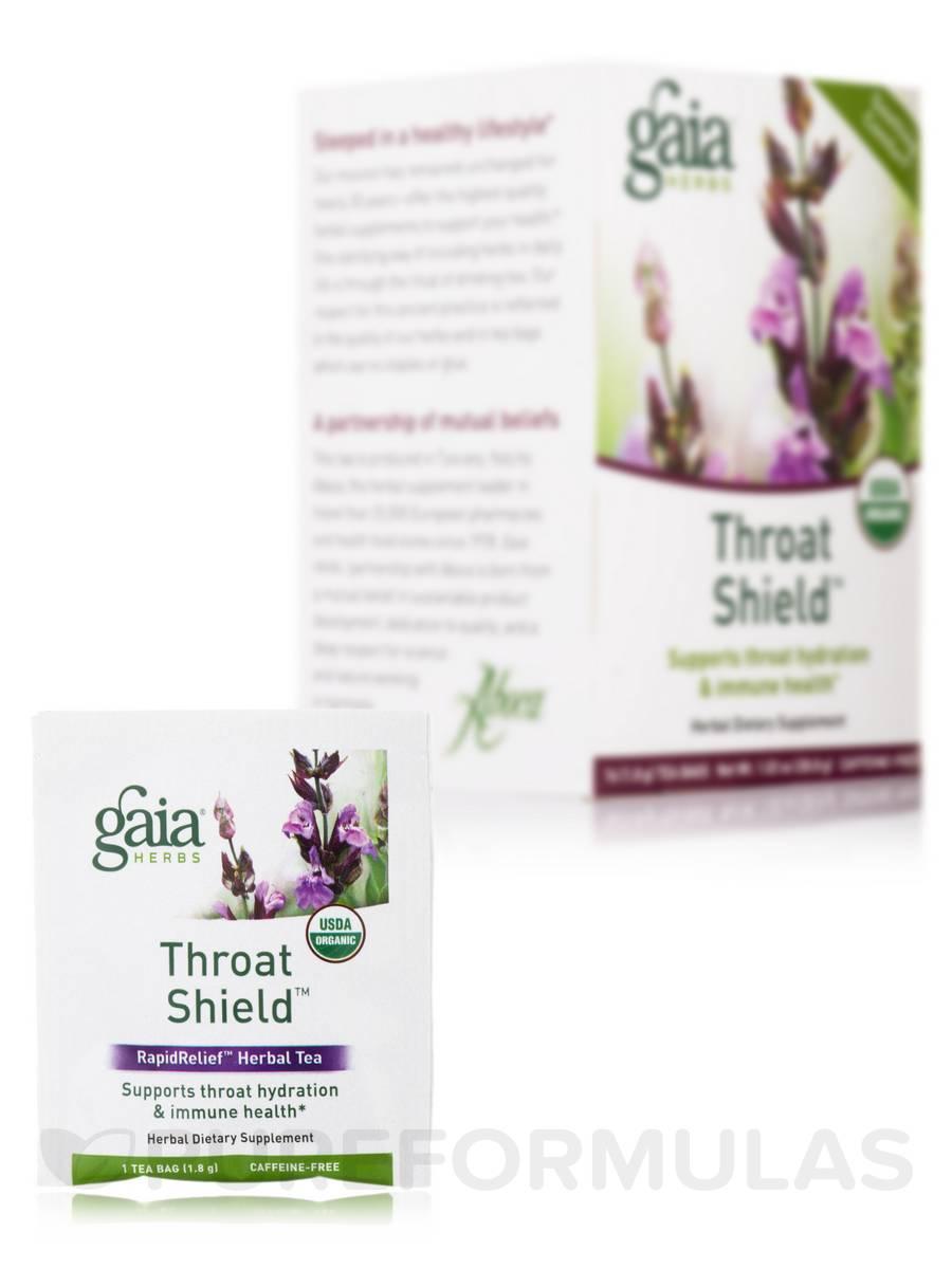 Throat Shield Tea - 16 Tea Bags (1.02 oz / 28.8 Grams)