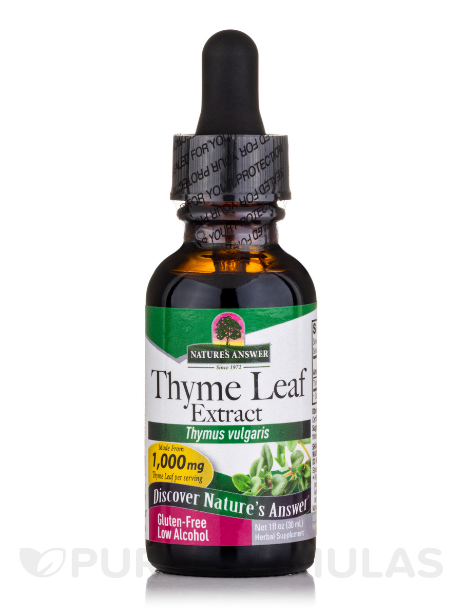 Thyme Herb Extract - 1 fl. oz (30 ml)