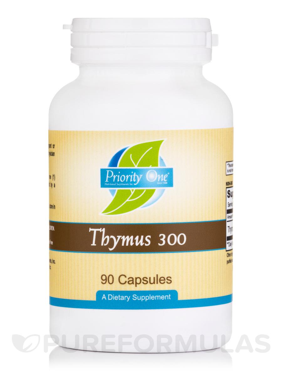 Thymus 300 mg - 90 Capsules