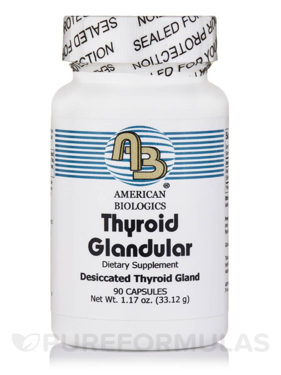 Thyroid Glandular - 90 Capsules