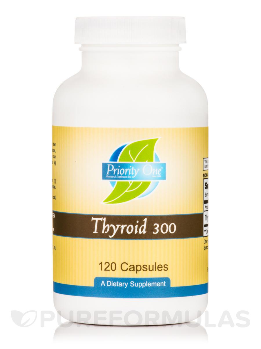 Thyroid 300 mg - 120 Capsules