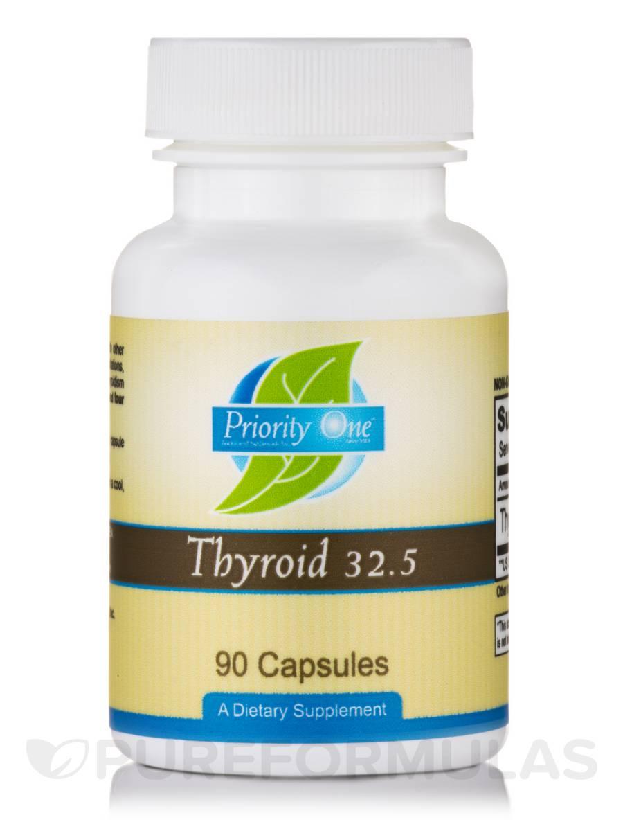 Thyroid 32.5 mg - 90 Capsules