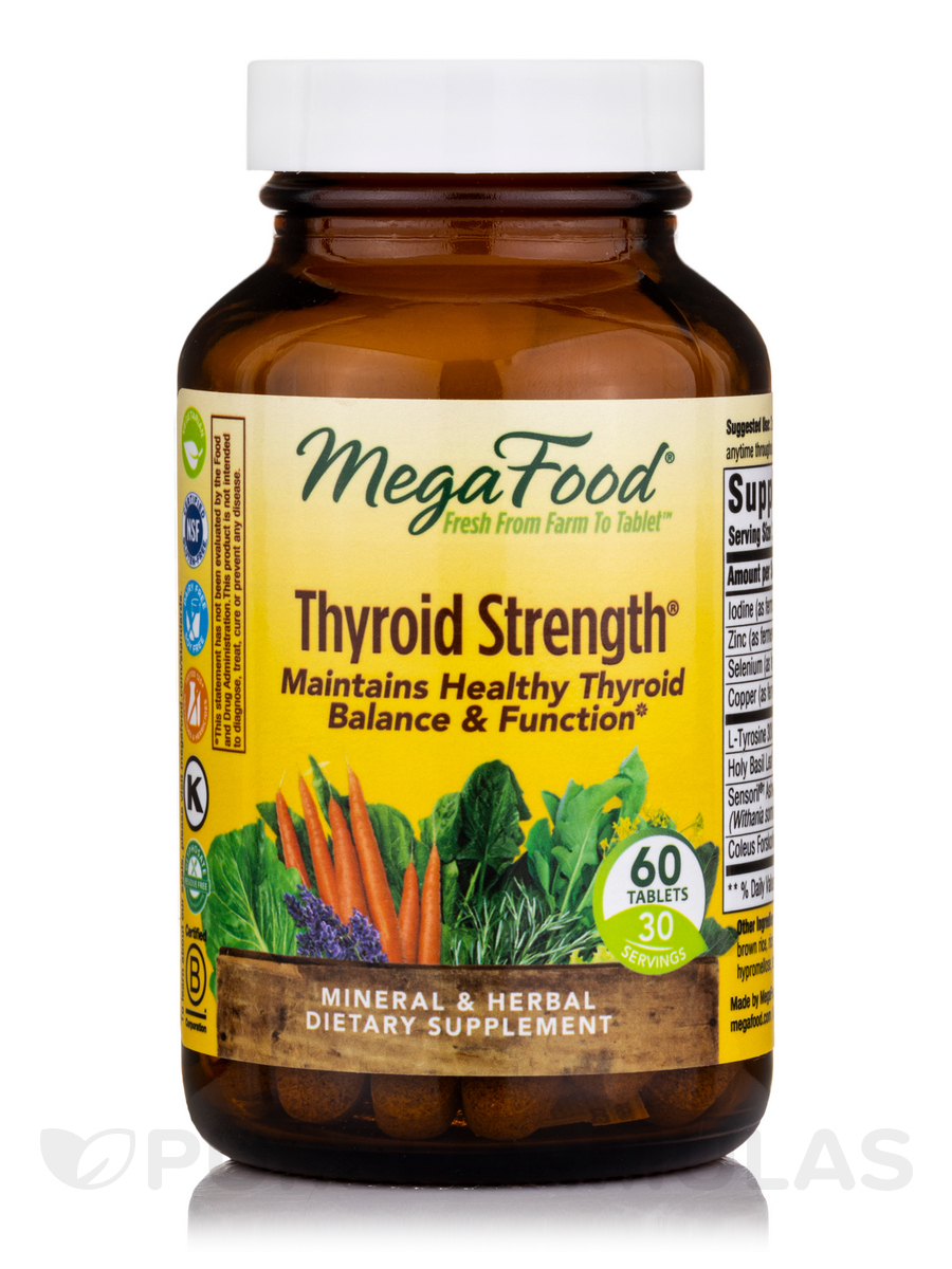 Thyroid Strength® - 60 Tablets
