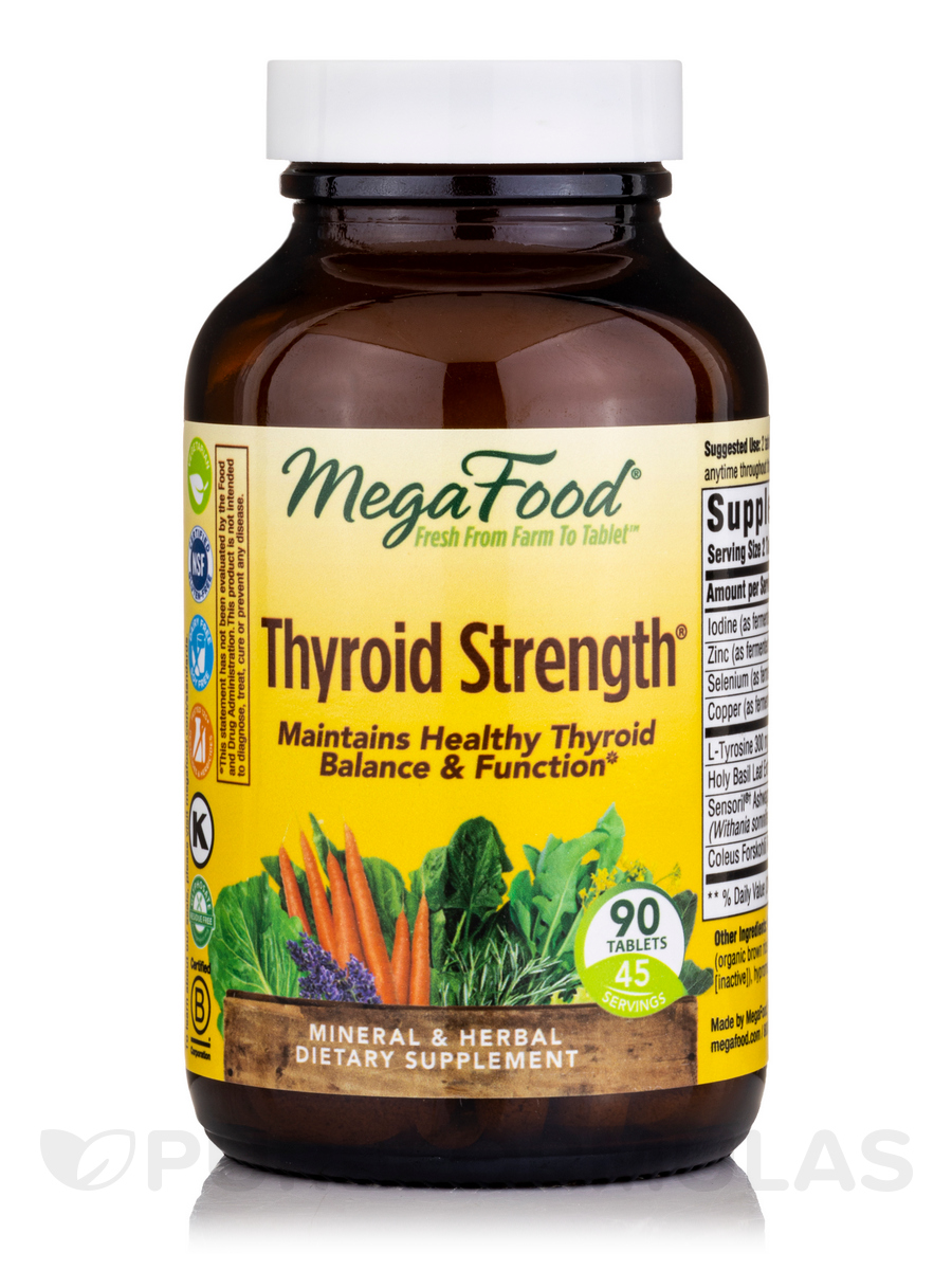 Thyroid Strength® - 90 Tablets