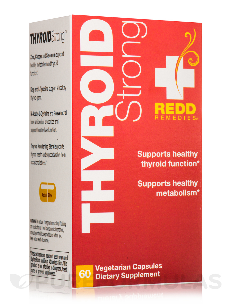 Thyroid Strong - 60 Vegetarian Capsules