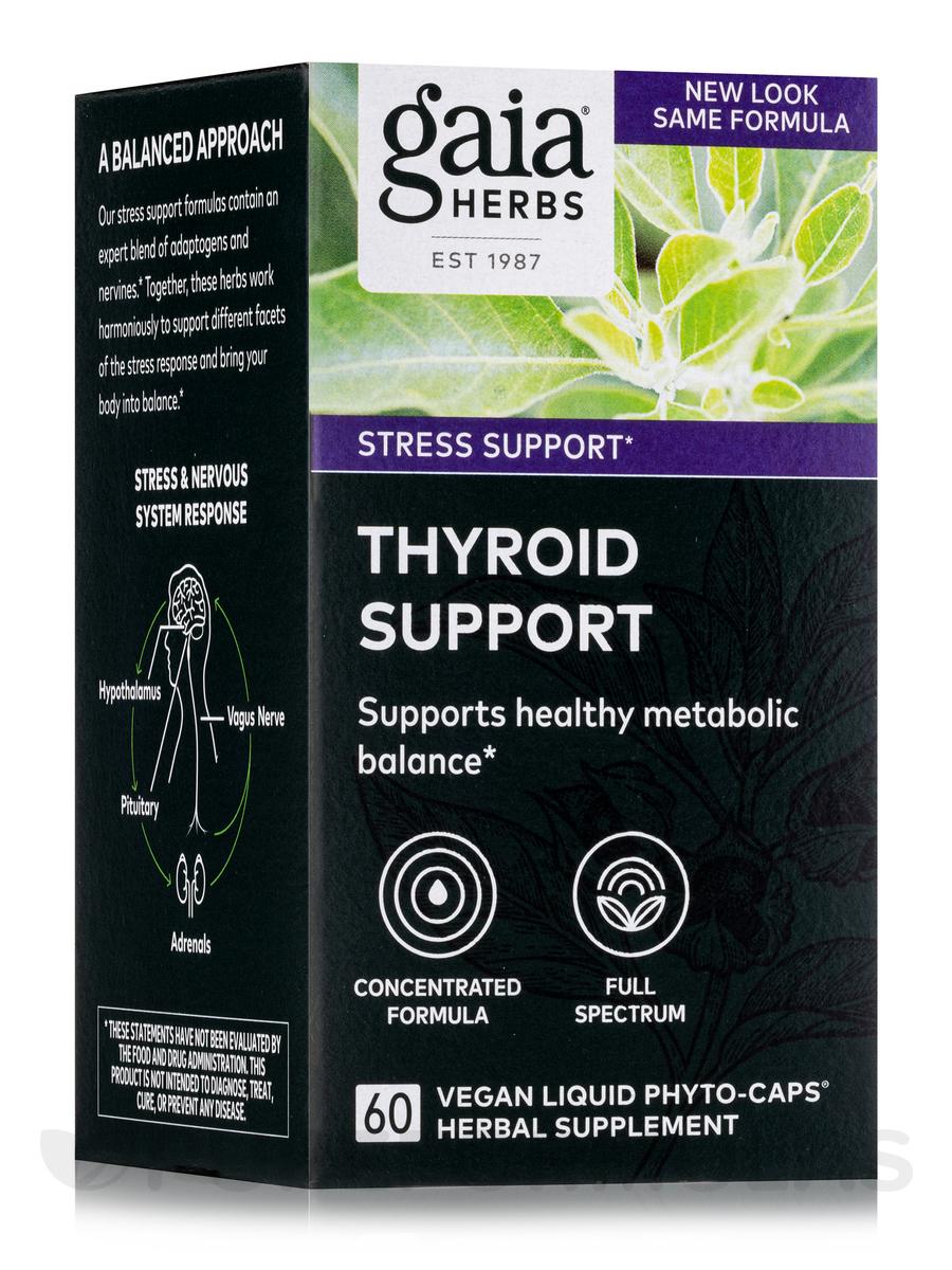 Thyroid Support - 60 Vegetarian Liquid Phyto-Caps